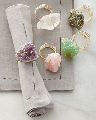 Candy Rock Napkin Ring