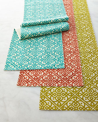 Lace It Up Table Runner, 15