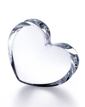 Zin Zin Large Heart, Clear