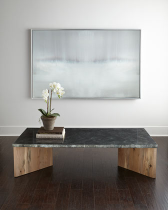 Alva Zinc Coffee Table