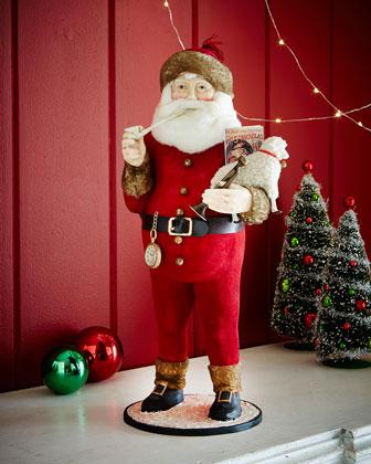 Thomas Nast Santa Figure