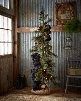 High Mountain Bear Play Tree