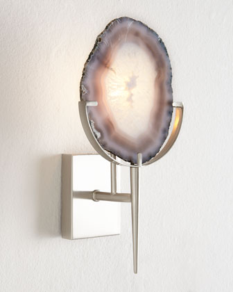 Agate Wall Sconce