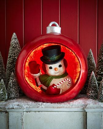 Ornamental Snowman