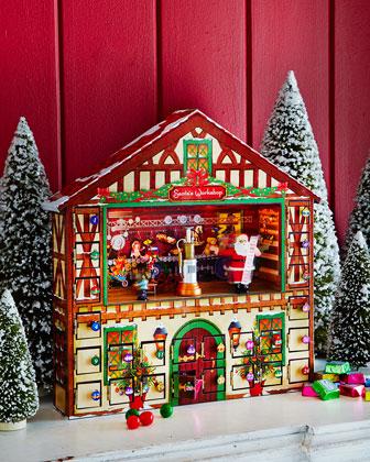 Animated Advent House