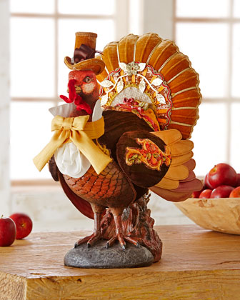 Turkey Tabletop Figure