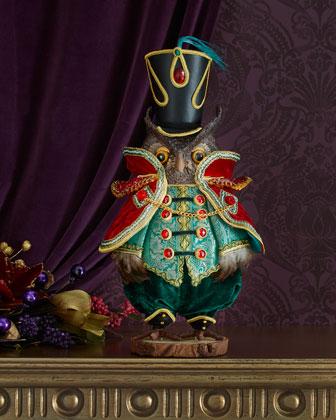Edwin Hoots Owl Tabletop Figure