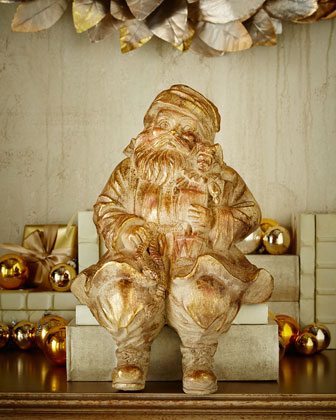Sitting St. Nick Figure