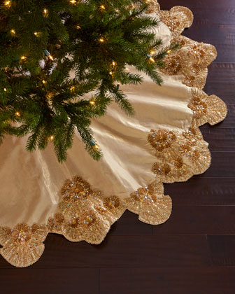 Trevi Christmas Tree Skirt