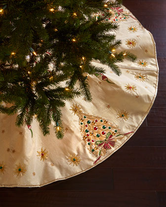 Retro Christmas Tree Skirt