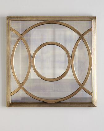 Circles Mirrored Wall Decor