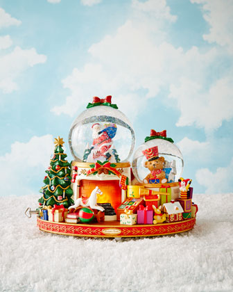 Down the Chimney! Snowglobe