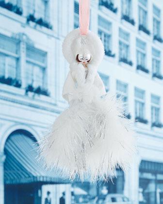 Winter Lady Christmas Ornament