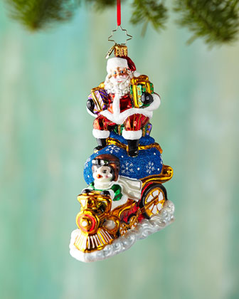 Riding High Nick Christmas Ornament