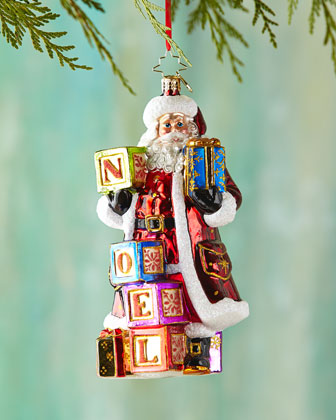 Simply Noel Christmas Ornament