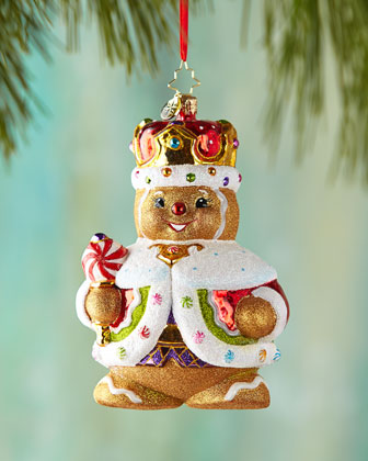 Ginger King Christmas Ornament