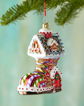 Sugar Foot Christmas Ornament