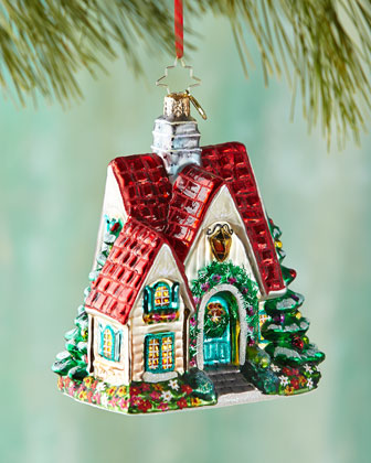 Perfect Cottage Christmas Ornament
