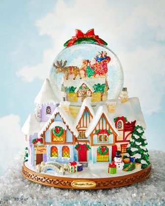 Up On the House Top! Snowglobe