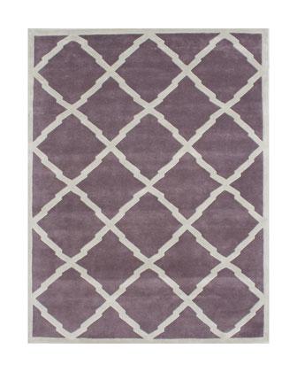 Lilac Path Rug, 8' x 10'