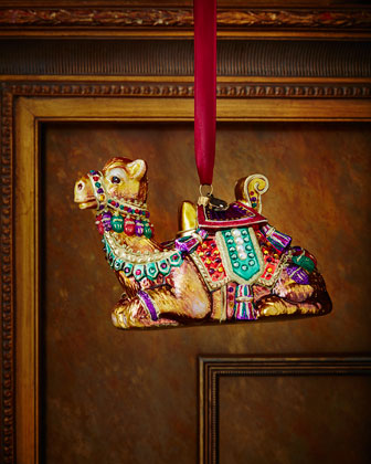 Sitting Camel Christmas Ornament