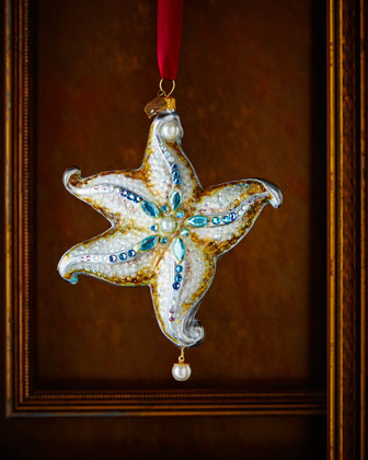 Starfish Christmas Ornament