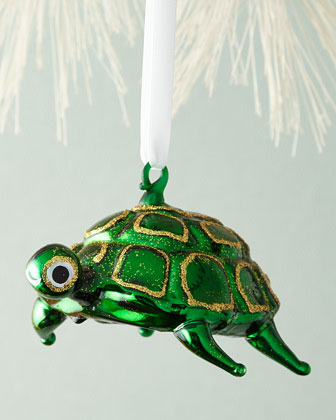 Octopus & Turtle Christmas Ornaments