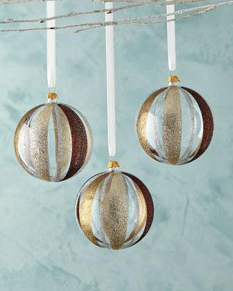 Glass Ball Christmas Ornament Sets