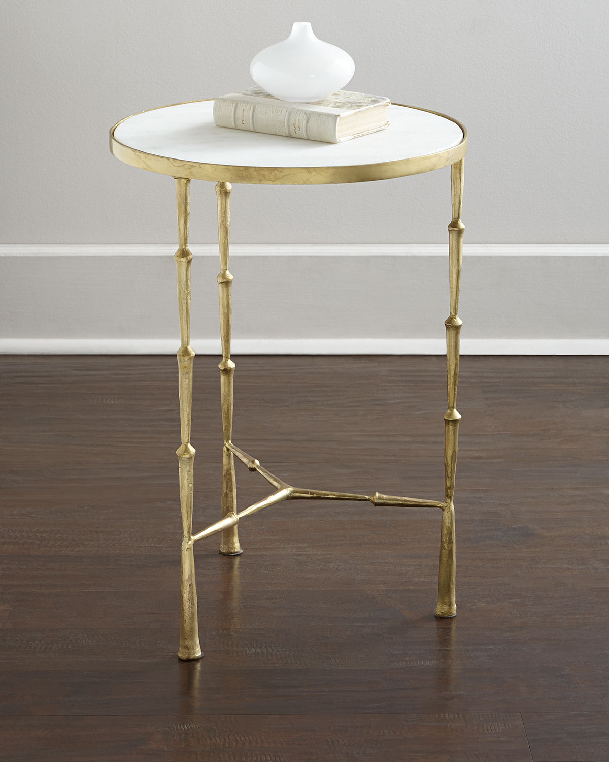 Camden Side Table, Gold - Neiman Marcus