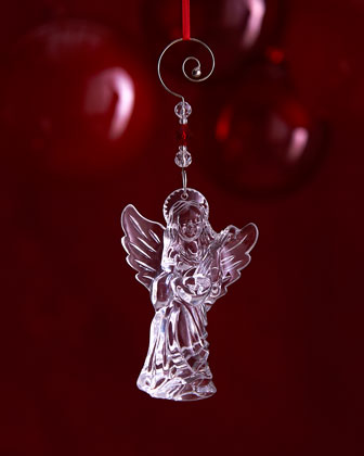 Crystal Annual Angel Christmas Ornament