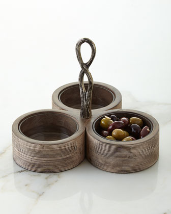 Weathered Wood Serveware