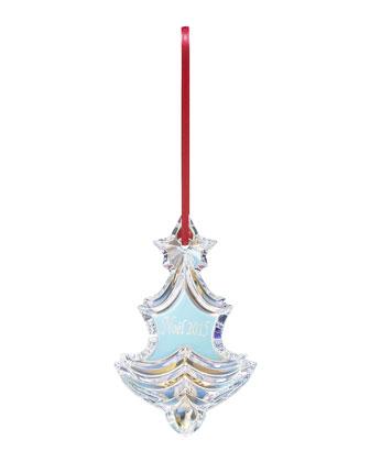 2015 Iridescent Noel Christmas Ornament