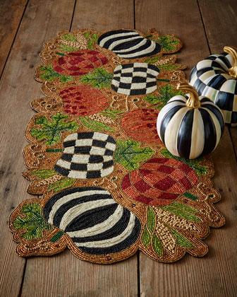 Autumn Harvest Beaded Centerpiece