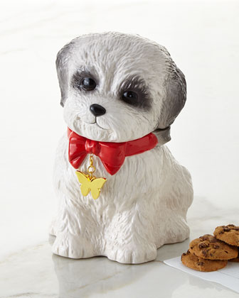 Shih Tzu Puppy Cookie Jar