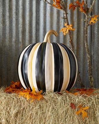 Courtly Stripe Great Pumpkin