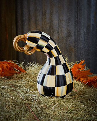 Courtly Check & Courtly Stripe Gourds