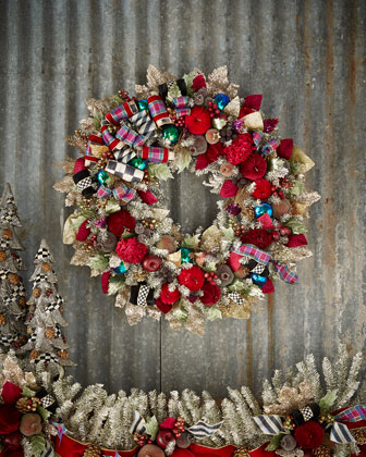 Holiday Frost Christmas Wreaths