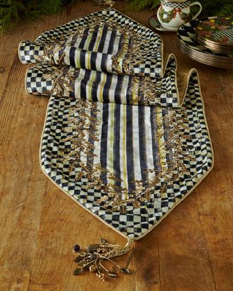 Golden Laurel Table Runner