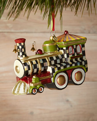 Christmas Choo Choo Ornament