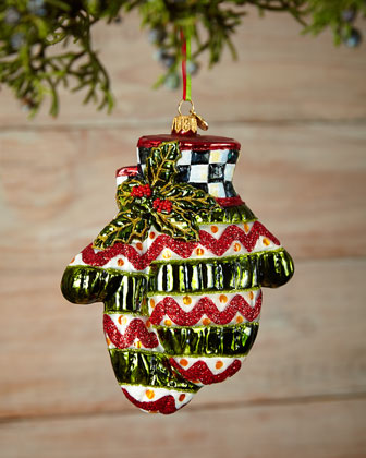 Holiday Mittens Christmas Ornament