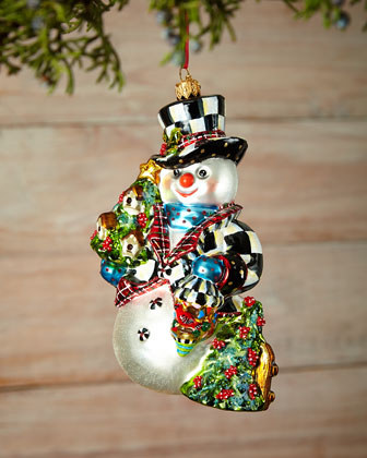 Mr. Snow Christmas Ornament