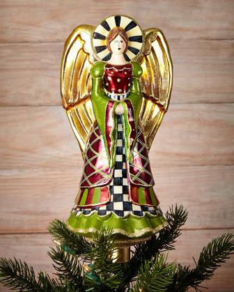 Yuletide Christmas Tree Topper