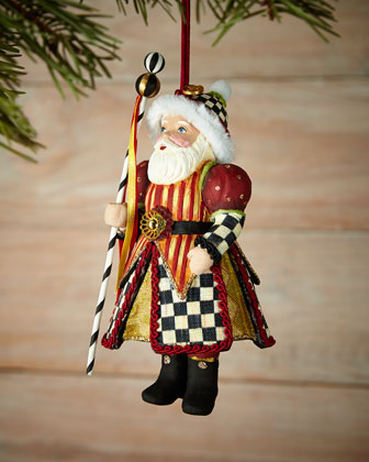 Festoonery Santa Christmas Ornament