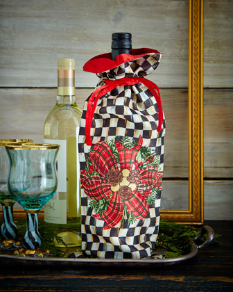 Evergreen Wine Bag
