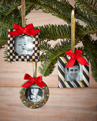Courtly Frame Ornaments, 3-Piece Set