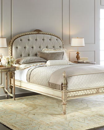 Beatrice Tufted Queen Bed
