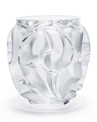 Tourbillions Small Clear Vase