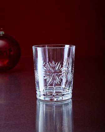 Crystal Snowflake Wishes Clear Glassware