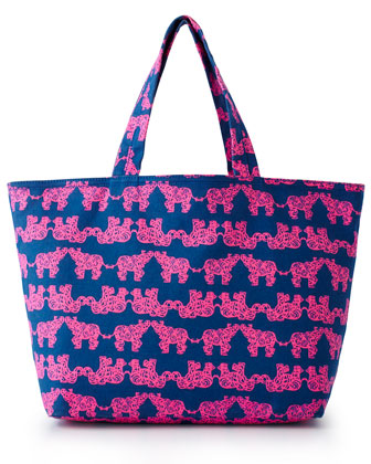 Pack Your Trunk Beach Tote