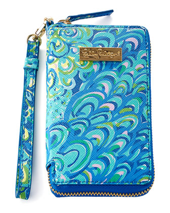 Sea Blue Lilly's Lagoon Tiki Palm iPhone 6 Case
